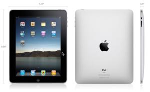 Apple announces the iPad tablet device