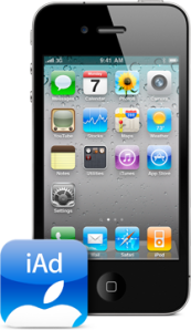 Apple's iAd mobile advertising network
