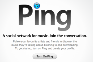 Ping brings social networking to iTunes