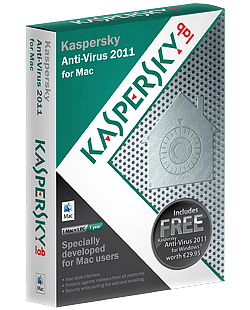 Kaspersky Anti-Virus 2001 for Max OS X