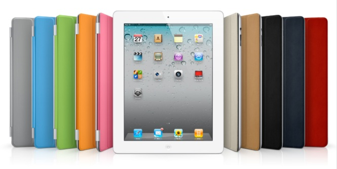 iPad 2 with smartcovers
