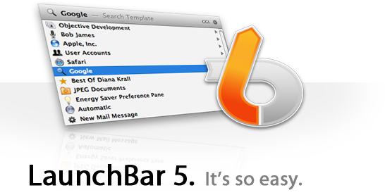 LaunchBar 5 by Objective Development