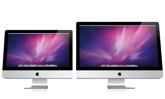 New iMacs