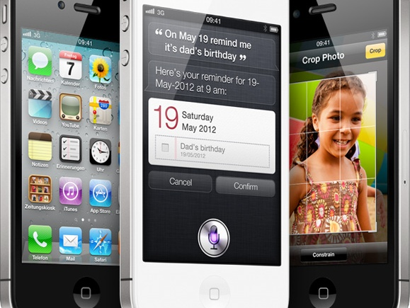 Apple's new iPhone 4S
