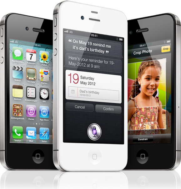 Apple's new iPhone 4S