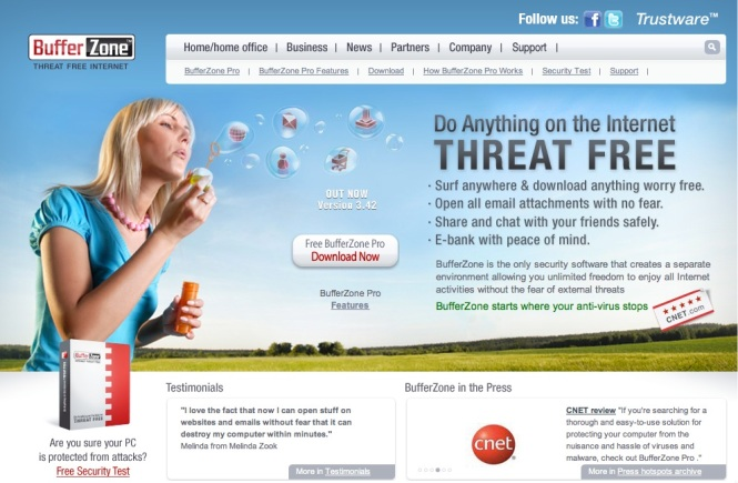 BufferZone Security Software